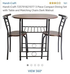 3 Piece Compact Dining