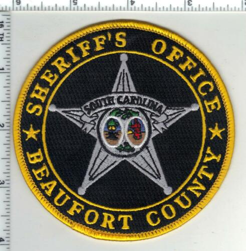 Beaufort County Sheriff (South Carolina) 2nd Issue Shoulder Patch