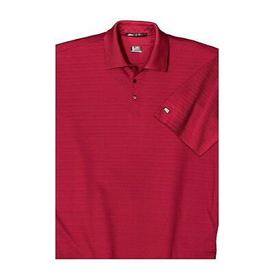 NIKE Golf NEW Tiger Woods L, XL, 2XL DRI-FIT Mercerized Polo Shirt RED or WHITE