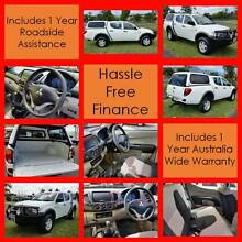 2007 Mitsubishi Triton 4x4 T/Diesel Dual Cab Ute - Finance Avail Westcourt Cairns City Preview