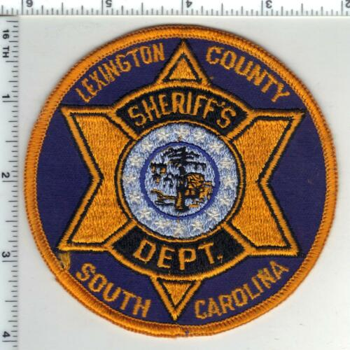 Lexington County Sheriff (South Carolina) 1st Issue Shoulder Patch