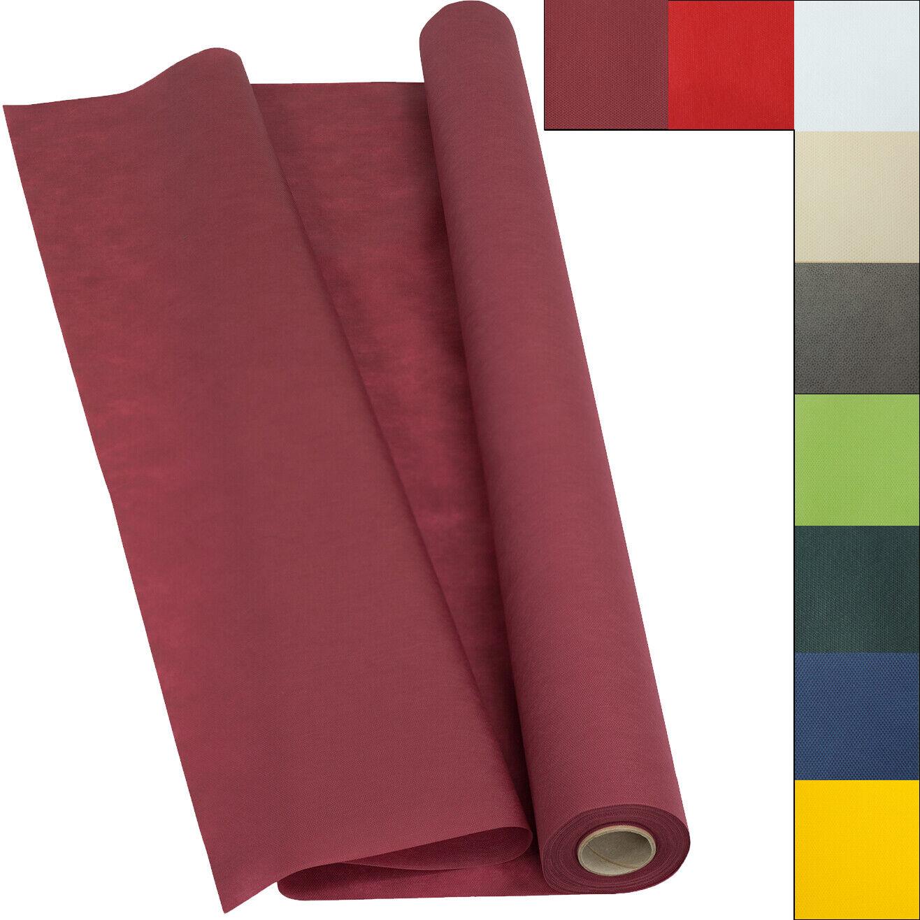 Sensalux light Tischdeckenrolle 25m lang, Vlies (Farbe nach Wahl) 1,10m x 25m