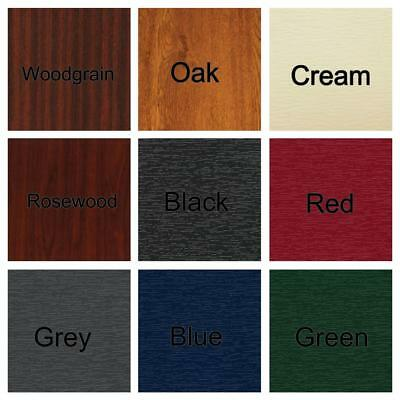 PVC UPVC Flat Infill Door Panel 20 24 28mm Woodgrain Oak Cream Rosewood Colours