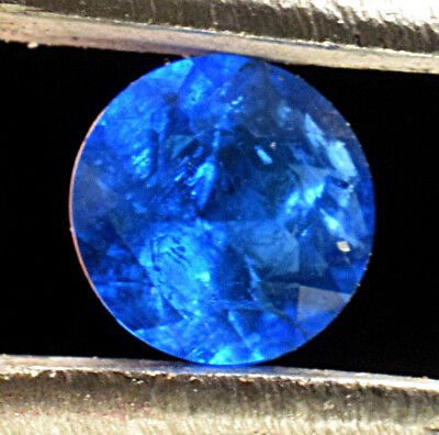 .13 ct - Natural Blue Hauyne Solitaire Cut- Laach Lake, Germany -5HA4-7, used for sale  Shipping to South Africa