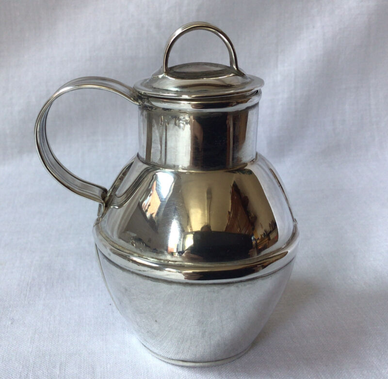 1981 Bruce Russell Solid Silver Guernsey Milk Can Churn. Size 15. 8.5cm. 73.59g