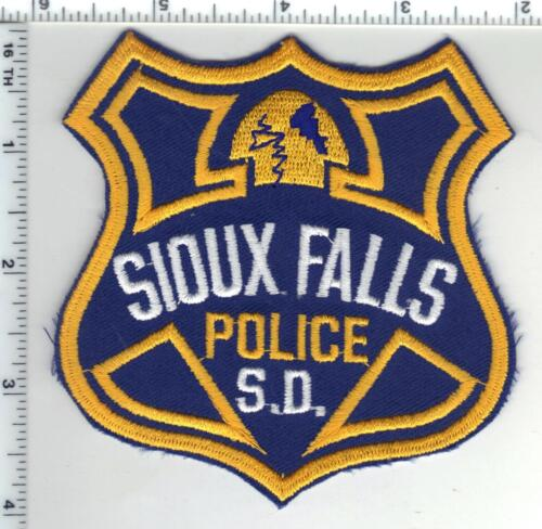 Sioux Falls Police (South Dakota) 2nd Issue Shoulder Patch
