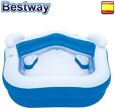 Pool Inflatable Hot Tub Bestway Family 2,13m x 2.06m x 69cm