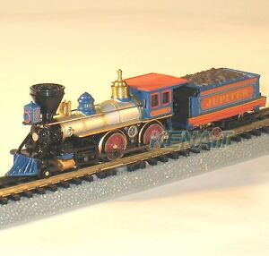Bachmann N Scale STEAM LOCO AMERICAN 4-4-0 & TENDER