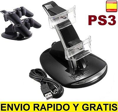 Base de Carga para Mando PlayStation 3 Dock Cargador game Controller Pad...