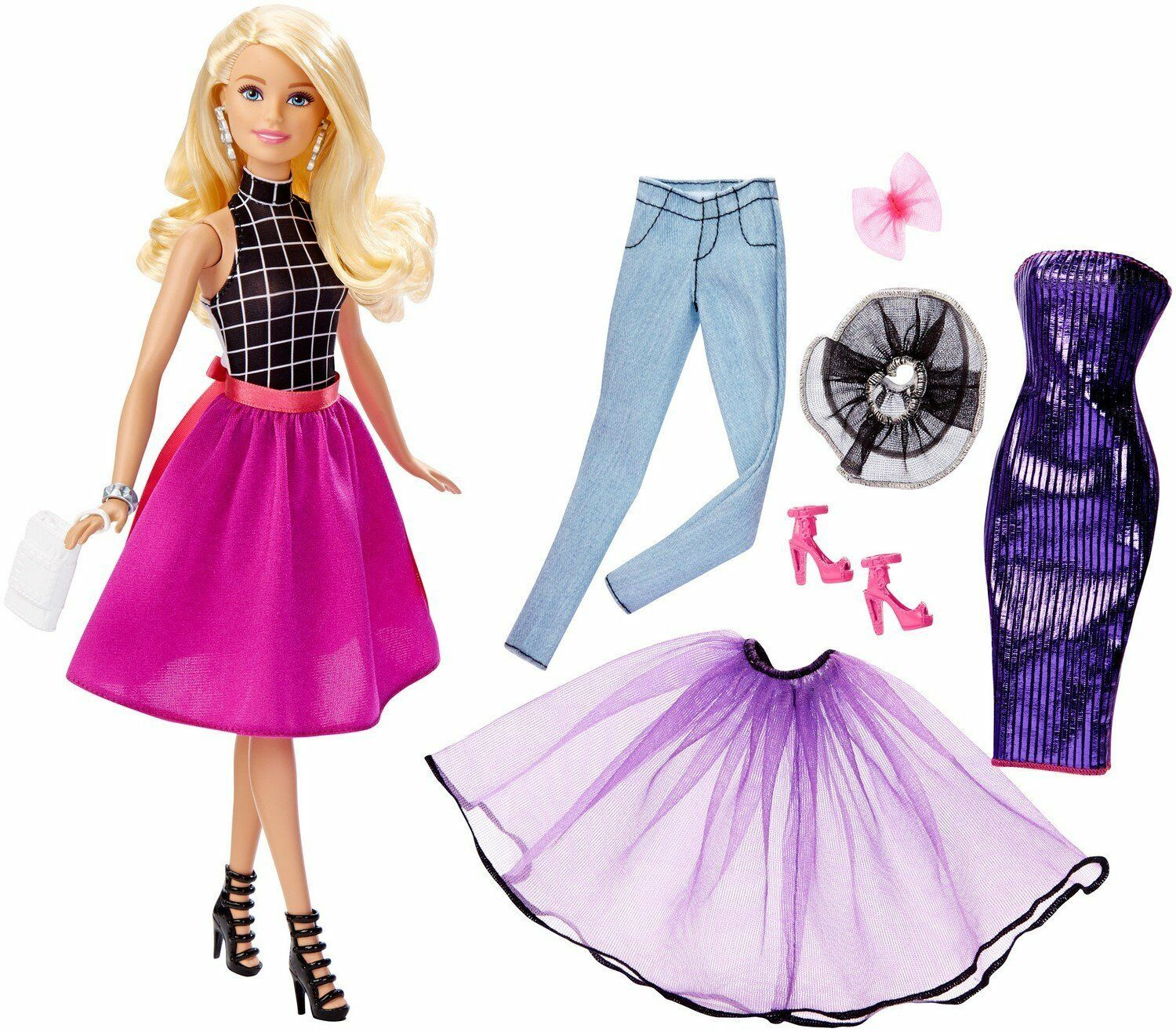 Barbie Fashion Mix 'N Match Doll, Blonde