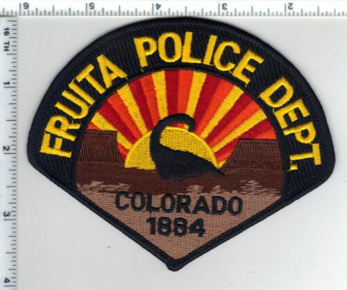 Fruita Police (Colorado) Shoulder Patch from the 1980s