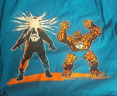John Carpenters The Thing Fantastic Four Thing 1 & 2 shirt XL Marvel Dr Seuss