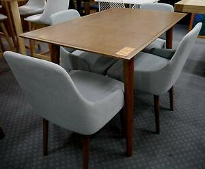 New Second LV Retro Danish Scandi 5 Pc Timber Dining Table Chairs Melbourne CBD Melbourne City Preview