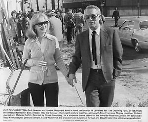 THE-DROWNING-POOL-PAUL-NEWMAN-JOANNE-WOODWARD-TWO-ORIG-1975-8X10S