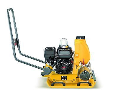 Wacker Neuson Vp1550aw Plate Compactor Water Tank Honda Engine Vibraplate