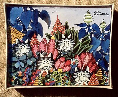 Vintage Kliban Cat Note Cards Set of 8 SEALED Box Blank Hallmark