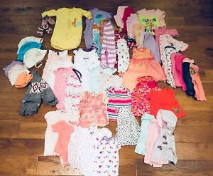 Baby girl clothing lot 6-9 months OBO