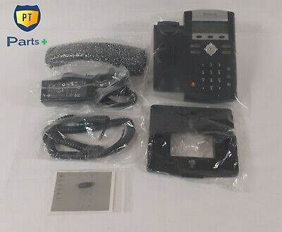 Polycom Soundpoint Ip321 2-line Poe Voip Phone W Adapter Stand 2200-12360-001