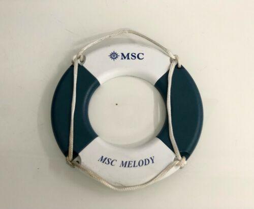 VINTAGE NAUTICAL MARINE SHIP SPARE MSC MELODY RINGBUOY SMALL SIZE PHOTO FRAME