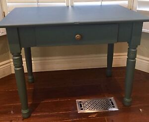 Vintage desk vanity table with drawer