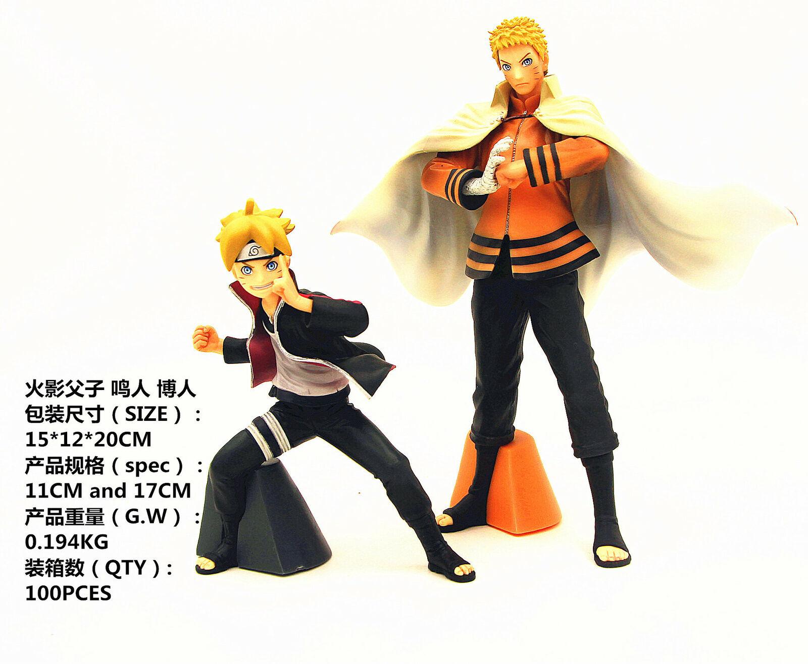 Anime BORUTO NARUTO NEXT GENERATIONS NARUTO Boruto Father And Son Action  Figures