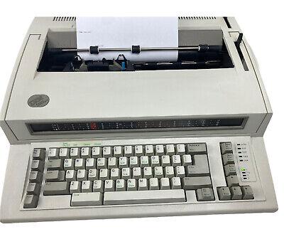 Vintage Ibm Personal Wheelwriter 2 Electric Typewriter By Lexmark 6781-018