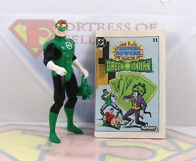 Vintage 1984 Kenner DC Super Powers Green Lantern Action Figure ~Comic ~MINTY