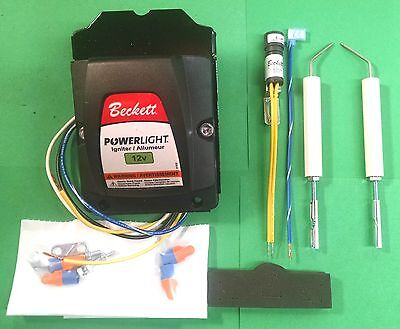 Beckett Powerlight Adc Oil Burner 12 Volt Transformer And Electrode Kit 5218301u