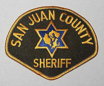 SAN JUAN COUNTY SHERIFF Washington WA Co SD SO patch