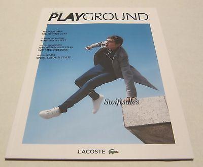 Playground By Lacoste Fashion Magazine - Fall / Winter 2015 - Brand New