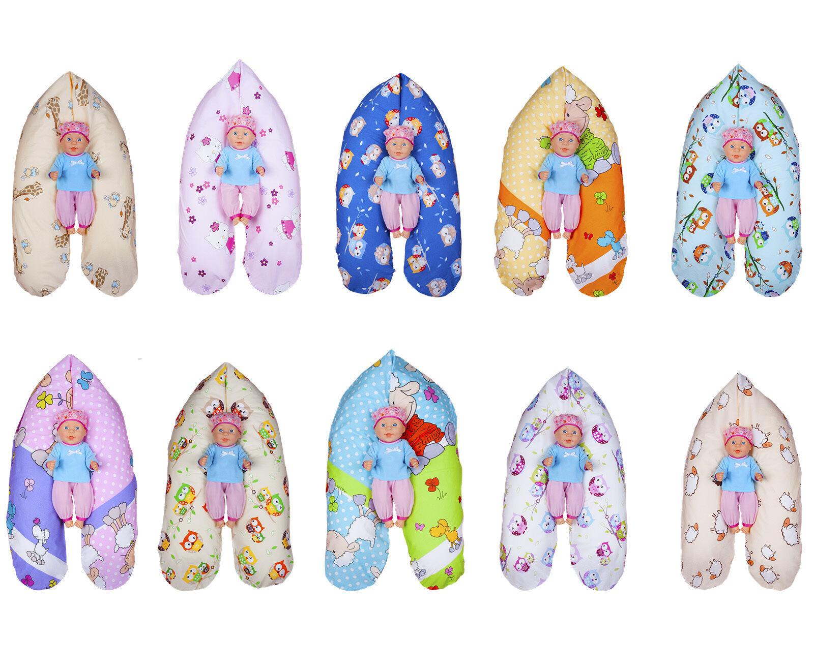 Stillkissen WEICH oder FEST Lagerungskissen inkl. Bezug 170 cm XXL Baby NEU