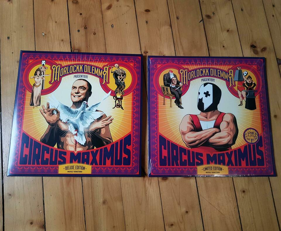 Morlockk Dilemma Circus Maximus 10 Jahre limited Deluxe Edition in Witten