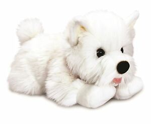 Keel Toys Signature Puppies 35cm Westie Dog Cuddly Soft Toy SD4574