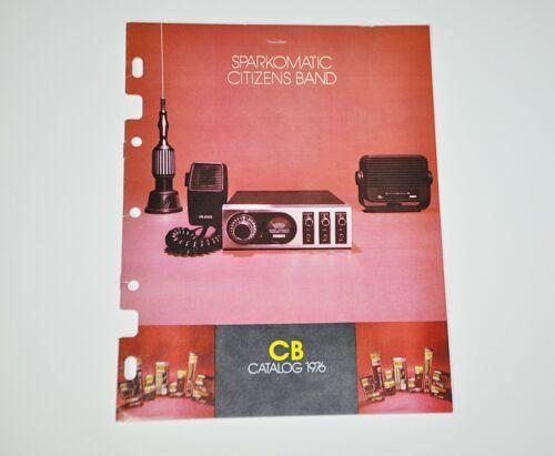Sparkomatic Citizens Band CB Catalog 1976