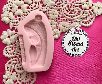 FIRST COMMUNION Praying Virgin Maria silicone mold fondant FDA