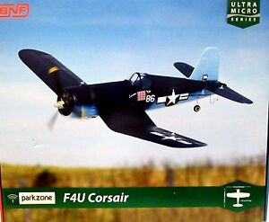 NEW IN BOX - Parkzone Ultra Micro F4U Corsair BNF PKZU1680 - NEW IN BOX