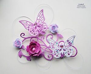 Butterfly Card Toppers eBay