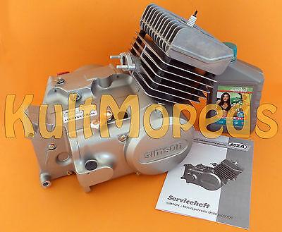 Simson Motor 50ccm Zylinder 4 Gang S51 KR51 Schwalbe SR50 S53 Werksneu Viton neu