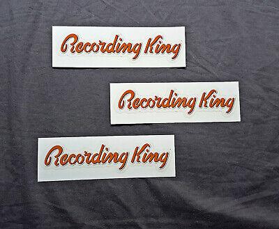 Recording King Guitars 3 Sticker Set.....
