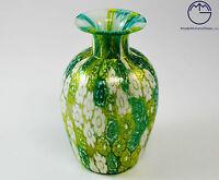 Vaso Moderno In Vetro Di Murano. Vase Glass Murano. Con Murrine E Oro 24k -  - ebay.it