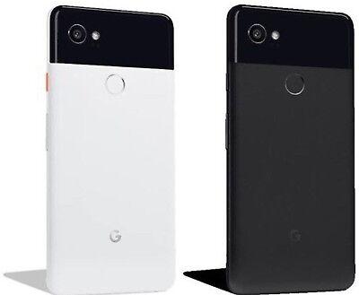 Google Pixel 2 XL 64GB 128GB G-011C Unlocked Black or White Smartphone Free Ship