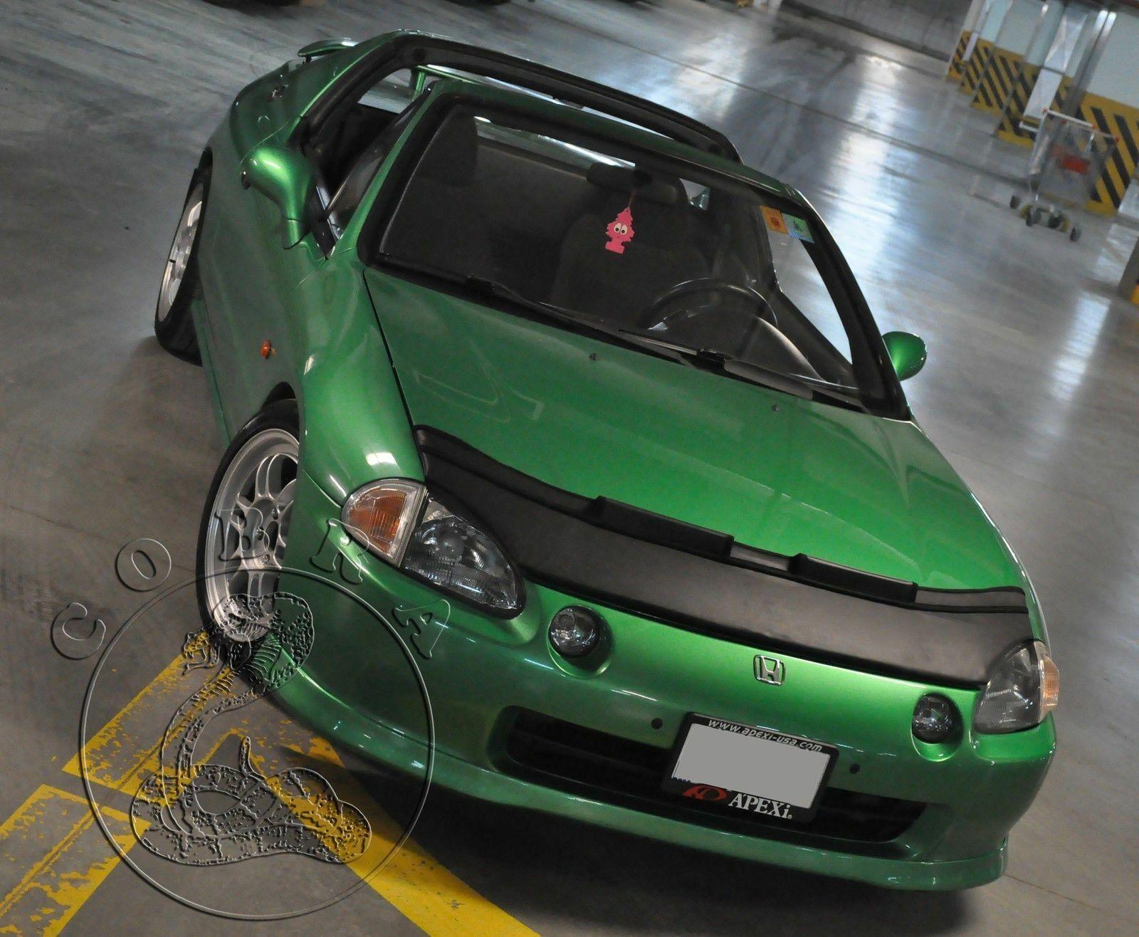 Car Bonnet Hood Bra LOGO Fits Honda Prelude 92 93 94 95 1992 1993 1994 1995