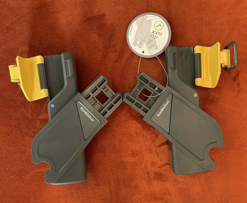 New UPPAbaby VISTA V2 Replacement Lower RumbleSeat Adapters