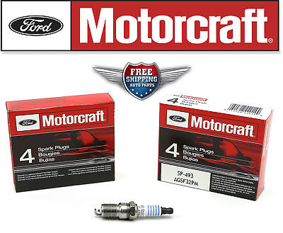 Pack of 8 Genuine Motorcraft Platinum Spark Plug SP493 AGSF32PM