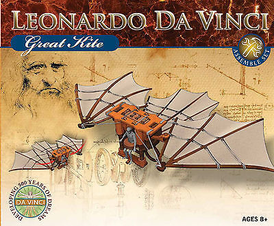 NEU Leonardo da Vinci Flugdrachen Modell Bausatz