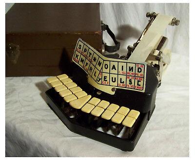 Schreibmaschine typewriter máquina de escribir Sténotype Grandjean ab 1920