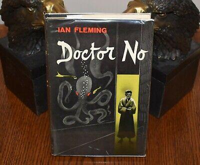 DOCTOR NO: James Bond 007 by Ian Fleming 1958 1st Ed US Macmillan Pub HB w/ DJ