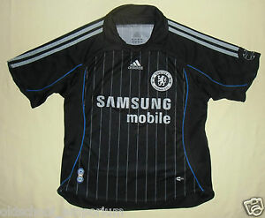 CHELSEA FC / 2006-2007 Away - ADIDAS - JUNIOR Shirt / Jersey. Size: 140cm, 10yrs - Poland, Polska - CHELSEA FC / 2006-2007 Away - ADIDAS - JUNIOR Shirt / Jersey. Size: 140cm, 10yrs - Poland, Polska