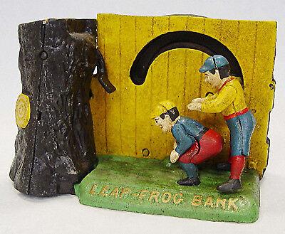 Spardose Bockspringen Mechanische Weihnachten Geschenk Vintage Deko Spielzeug