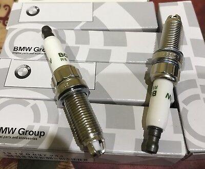 8 PC Bosch Spark Plugs 12120037244 ZGR6STE2 BMW E60 E90 E92 E93 135i 335i 535i